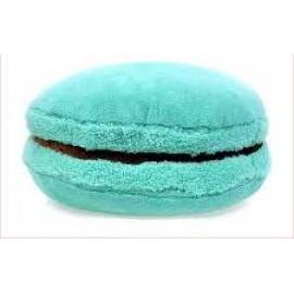 3D подушка Макарон голубая
