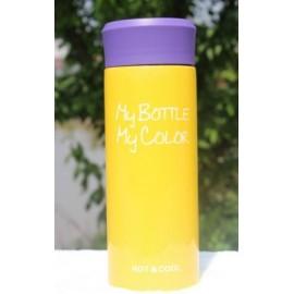 Купить  желтая термокружкаMy Bottle