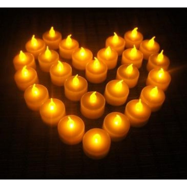 Как сделать мерцающую свечу