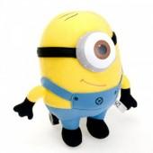 Мягкая игрушка миньон Дэйв 18 см из мультфильма Гадкий Я
