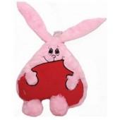 Игрушка Розовый Влюбленный Заяц