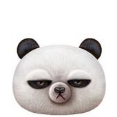 3D Игрушка-подушка злая панда