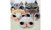 Подушка-игрушка 3D кошка