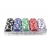 Фишки для покера 100 штук без номинала