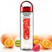 Бутылка Fruit Bottle красная