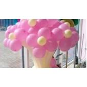 Праздничный букет из шариков