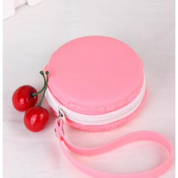 Сумочка Макарон розовая