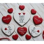 Заказать пряники на День Валентина