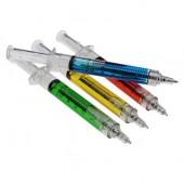 Оригинальная ручка в форме шприца!