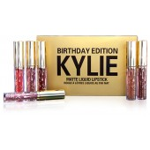 Набор Birthday Edition Kylie из 6 помад