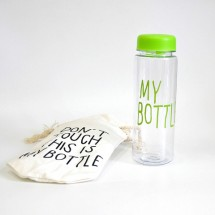 Бутылка My Bottle зеленая