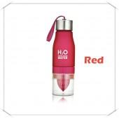 Бутылка h2o красная