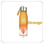 Бутылка h2o оранжевая