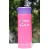 Термокружка My bottle 320 мл розовая