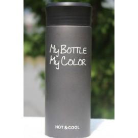 Термокружка My bottle черная