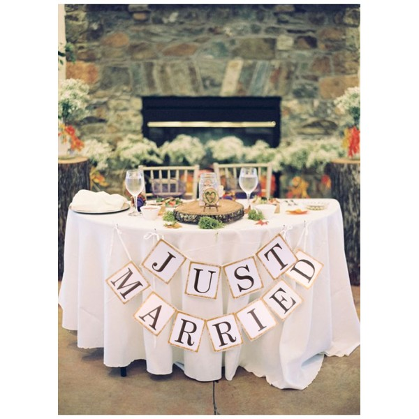 Гирлянда баннер на свадьбу