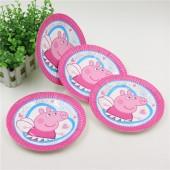 Праздничные тарелки Свинка Пеппа 10 шт