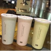 Чашка из биопластика пластика