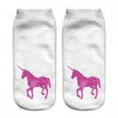 Модные носки с принтом Единорог