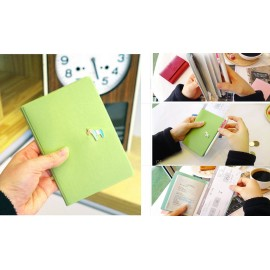 Pony Passport Case Обложка на паспорт зеленая