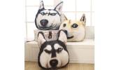 Подушка  3D Dogs