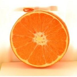 3D подушка апельсин