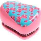 Расческа Tangle Teezer Compact Styler розовая с бантиком