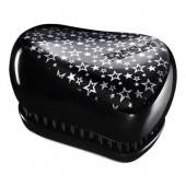 Расческа Tangle Teezer Compact Styler черная со звездочками