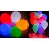 Светящиеся шарики с воздухом
