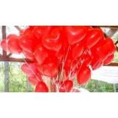 Латексные шарики Сердце 10 дюймов 25 см