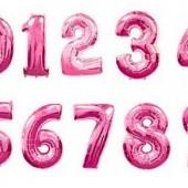 Фольгированные шарики Цифры 85 см