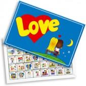 Шоколадный набор Love is 40 шоколадок