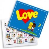 """Шоколадный набор """"Love is"""" 20 шоколадок"""