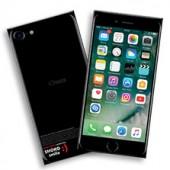 Шоколадная плитка iPhone 7 черная
