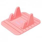 Яркий держатель для смартфона розовый