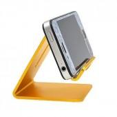 Подставка под смартфон золотая
