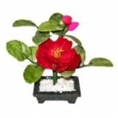 """Цветок """"Пион"""" (1 цветок и 2 бутона)"""