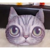 3D подушка кот